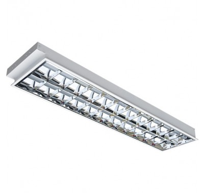 LEDTUBE LRV 2x16W/120см Recessed With Lamp