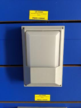 Lighting Fixture FD014-3 20W Silver Grey 4000K IP65 18