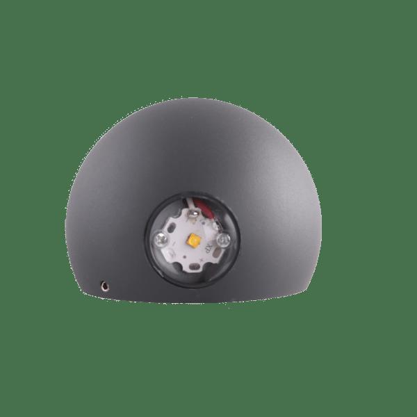 Svet-k 308G 2*1W IP54 dark grey 4000K Tekled 30