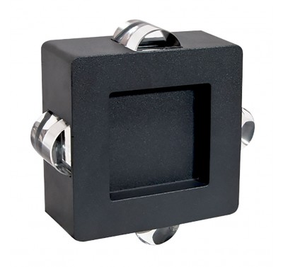 LED C0159 4X1W DARK GREY