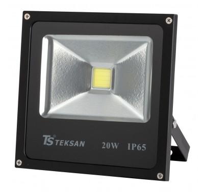 LED TS020 20W 6000K BLACK