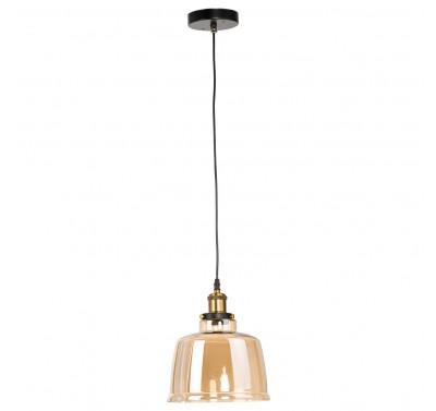 6041-1P E27 40W Amber Glass