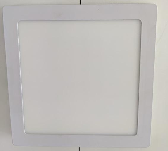 LED Kvadro Panel 18W 6000K SURFACE m