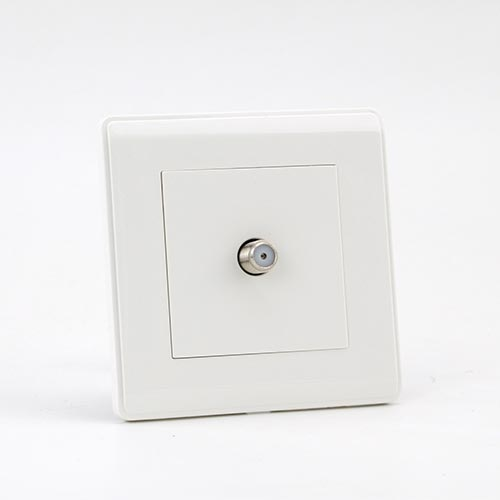 PRIME WHITE 1 GANG SATELITE Socket (TS) 100