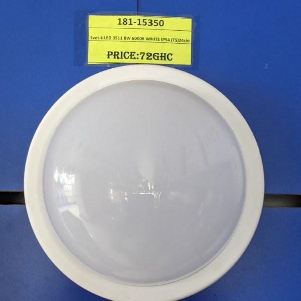 Svet-k LED 3511 8W 6000K WHITE IP54 (TS)24sht