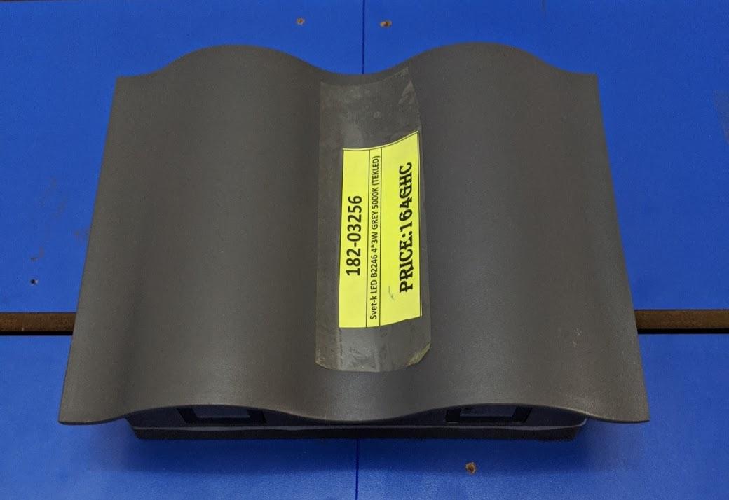 Svet-k LED B2246 4*3W GREY 5000K (TEKLED) 10sht