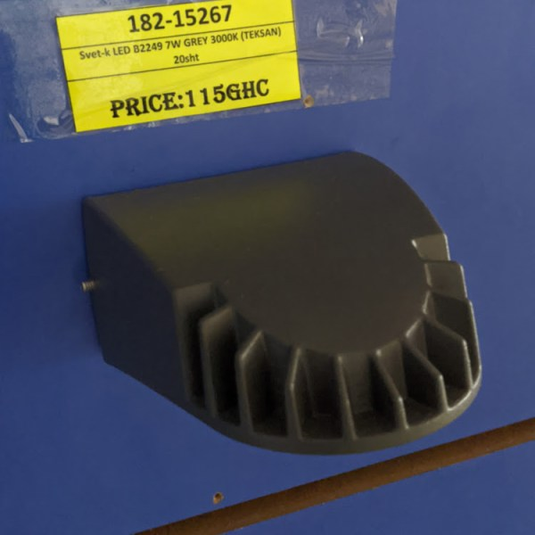 Svet-k LED B2249 7W GREY 3000K (TEKSAN) 20sht