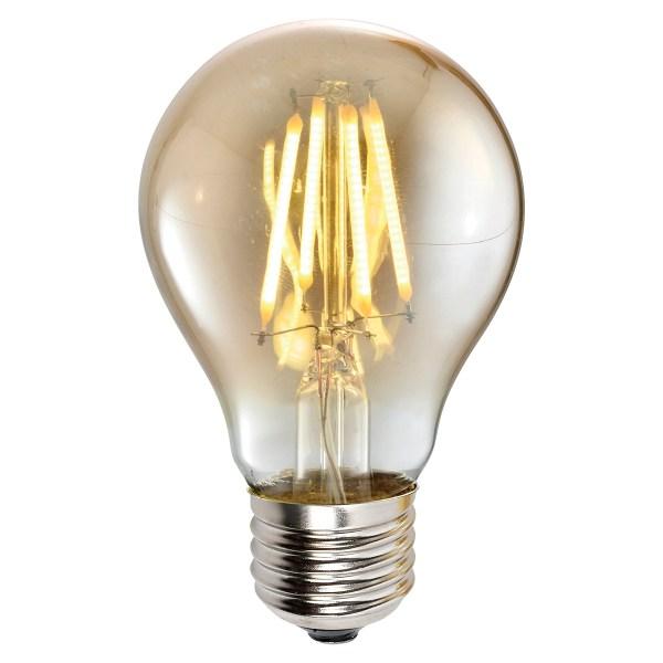 Lampa LED A60 4W AMBER E27 2700K 220V (TL)100sh