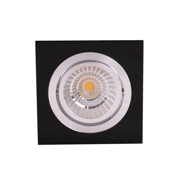 LED OC002A 1х5W 3000K BLACK 100-265V