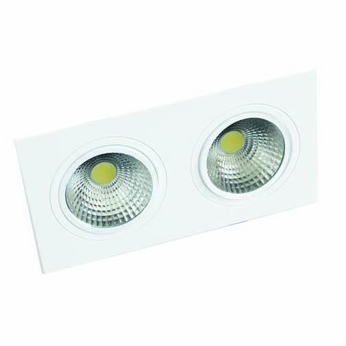 LED OC001B 2х5W 4000K WHITE 100-265V