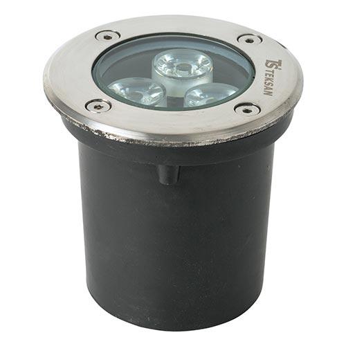 Nazemno-utapl. LED U121 3W 5700K (TS) 50sht