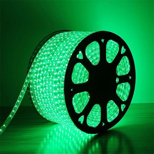 LED lentа 3528/60 220V GREEN 4W/M IP65(TEKLED)100m