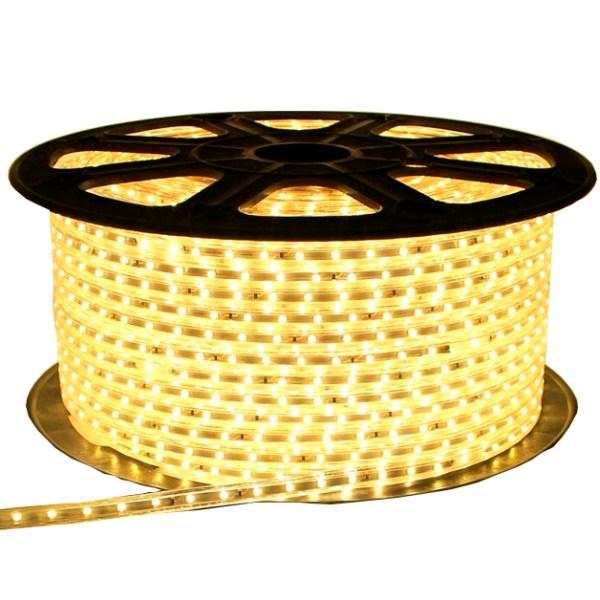 LED STRIP 2835/60 220V Warm White 4W/M IP65 (5m)