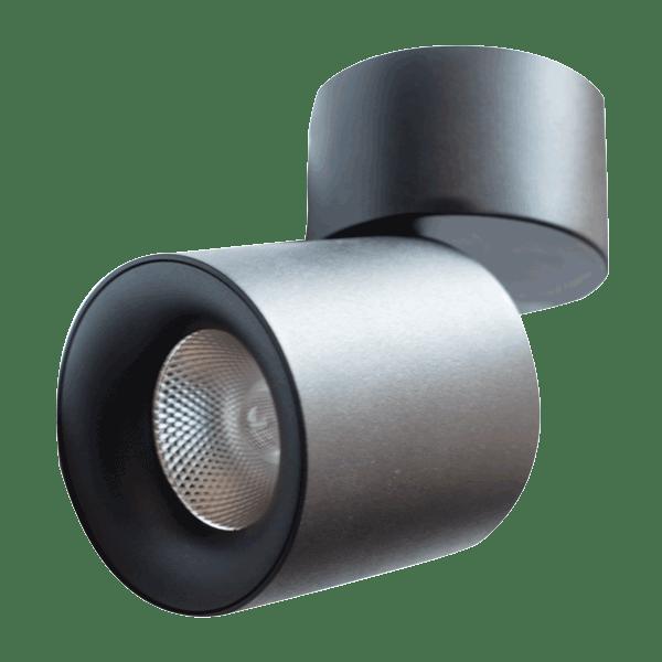 Track LED LD-S044 H-130 10W 4000K BLACK SPOT (TT)20