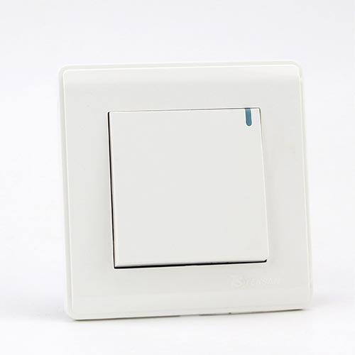 PRIME WHITE 1 GANG Two way switch (TS) 100