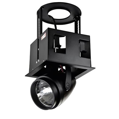 Lighting Fixture DOWNLIGHT LED DK884-1 30W BLACK 5700K