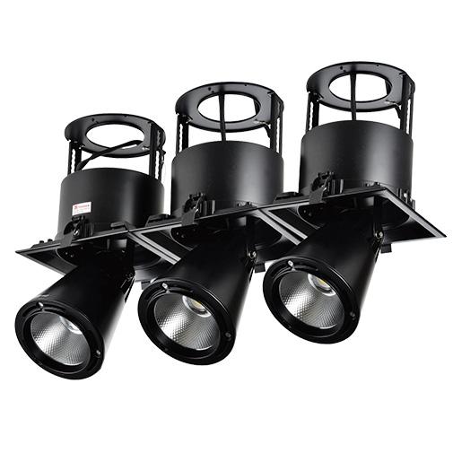 Lighting Fixture DOWNLIGHT LED LS-DK911-3 3X40W5700K BLACK4
