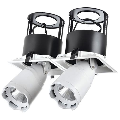 Lighting Fixture DOWNLIGHT LED LS-DK912-2 2x40W 5700K WHITE4
