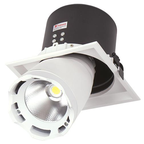 Lighting Fixture DL LED LS-DK914-1 40W WHITE 5700K