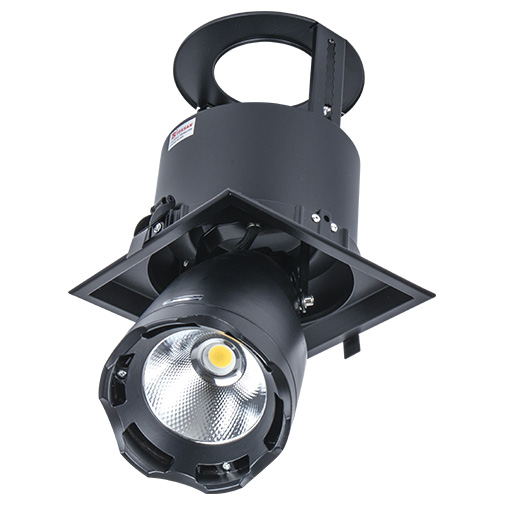Lighting Fixture DL LED LS-DK914-1 40W BLACK 5700K