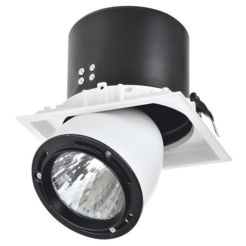 Lighting Fixture DL LED LS-DK917 40W White and Black 5700K