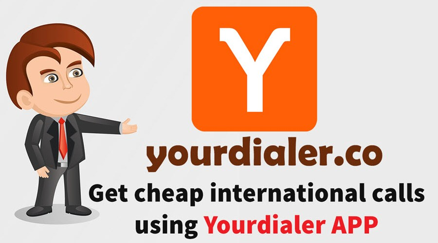 Cheap international call using Yourdialer