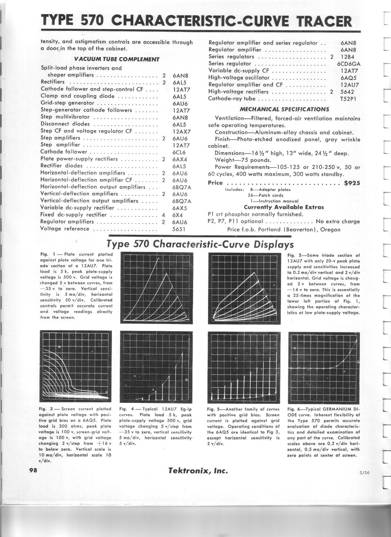 Tektronix Oscilloscope