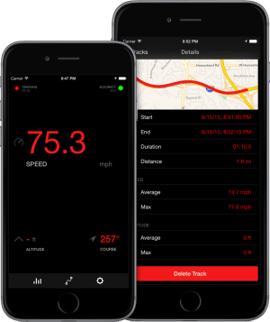 Speedometer App for iPhone & Apple Watch