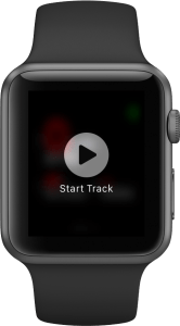 Speedometer View Apple Watch - Start Track