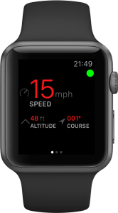 Speedometer View Apple Watch App