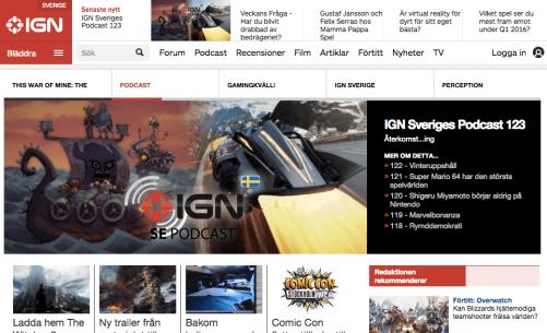 tekniknyheter spel dataspel TVspel recensioner IGN