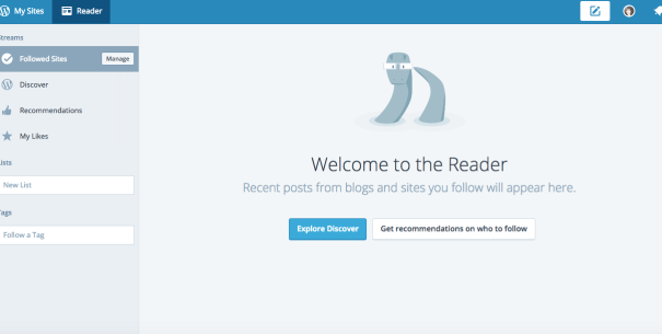 wordpress reader bloggar
