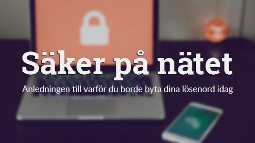 lösenord nätsäkerhet tvåstegverifiering gmail facebook wordpress