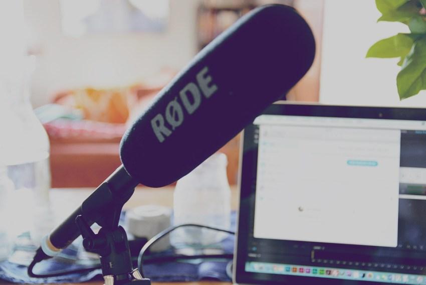 podcast studio mikrofon rode