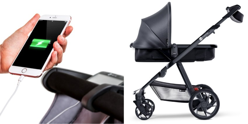 charging phone baby stroller