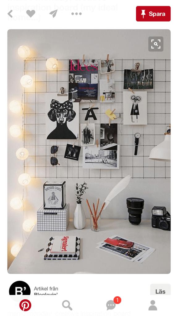 pinterest pin spaljéstaket kontor skrivbord