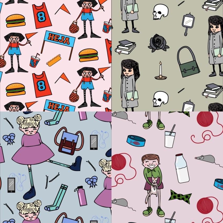 göra ett mönster adobe illustrator