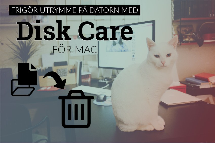 disk care mac ta bort filer