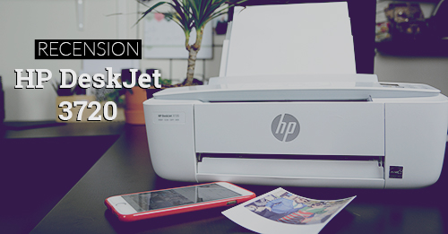 recension test HP DeskJet 3720 multiskrivare