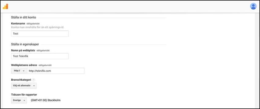 google analytics för nybörjare