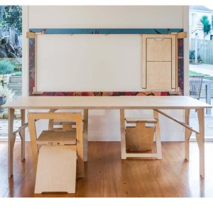 snap jack table and chair system