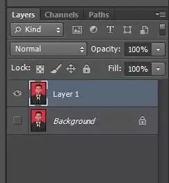 duplikat layer background