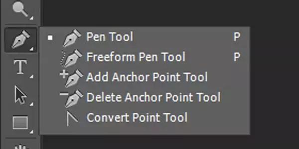 seleksi dengan pen tool