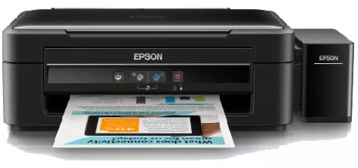 mengisi tinta printer epson L360