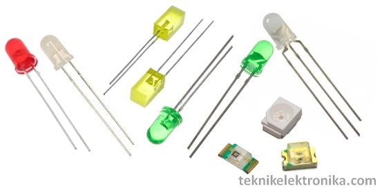 Pengertian LED Light Emitting Diode dan Cara Kerja LED