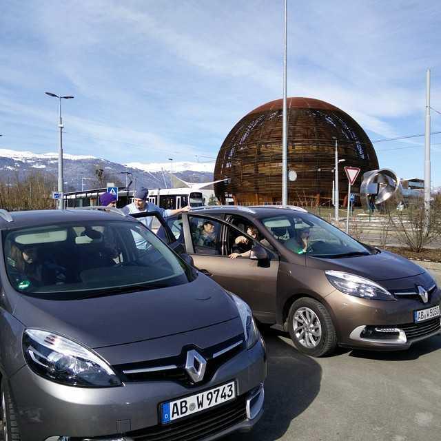 Nu har en riktigt, riktigt rolig och intressant resa börjat lida mot sitt slut och majoriteten av oss är på väg hemmåt igen! Ett stort tack till alla som hjälpt till att arrangera resan och alla som hängde med och gjorde den så rolig! :-) Slutligen vill vi tacka alla vi besökt, CERN, Hans Danielsson, ABB Semiconductors, Universitetet i Heidelberg och Deutche Bank!Det kan nog hända att det dyker upp fler bilder från resan framöver, men tills vidare lämnar jag härmed över kontrollen av kontot till dig @klaerice ;-)