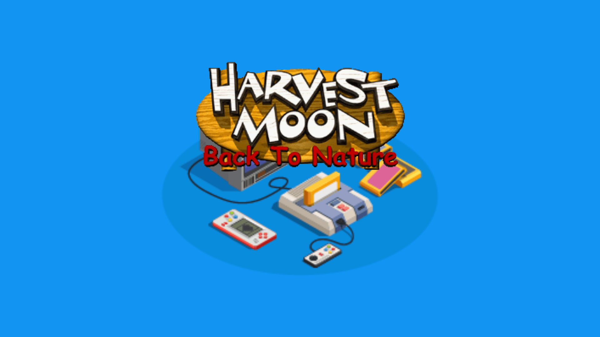 Cara instal Harvest Moon Back To Nature Di Android
