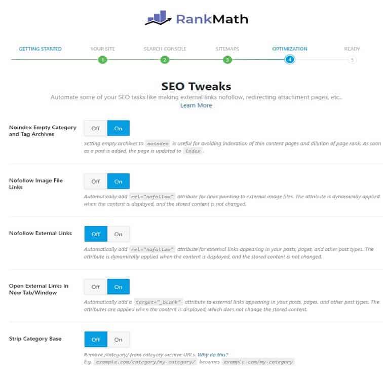 WordPress RankMath SEO Ayarları