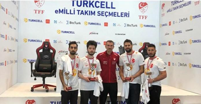 PES 2021'de Türkiye'yi Temsil Edecek Resmi eMilli Takım Kadrosu Belli Oldu