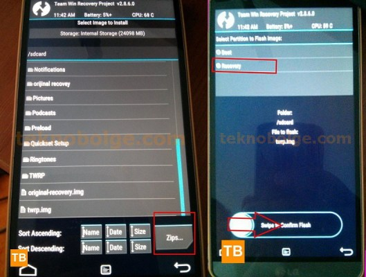 LG TWRP Recovery